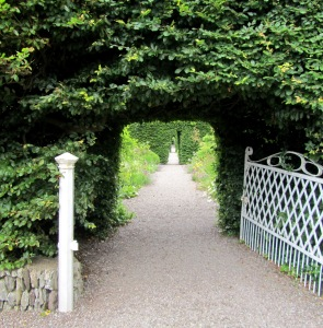 Gate to the old gardens.