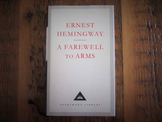 Hemingway. A Farewell to Arms. Post-traumatic stress.