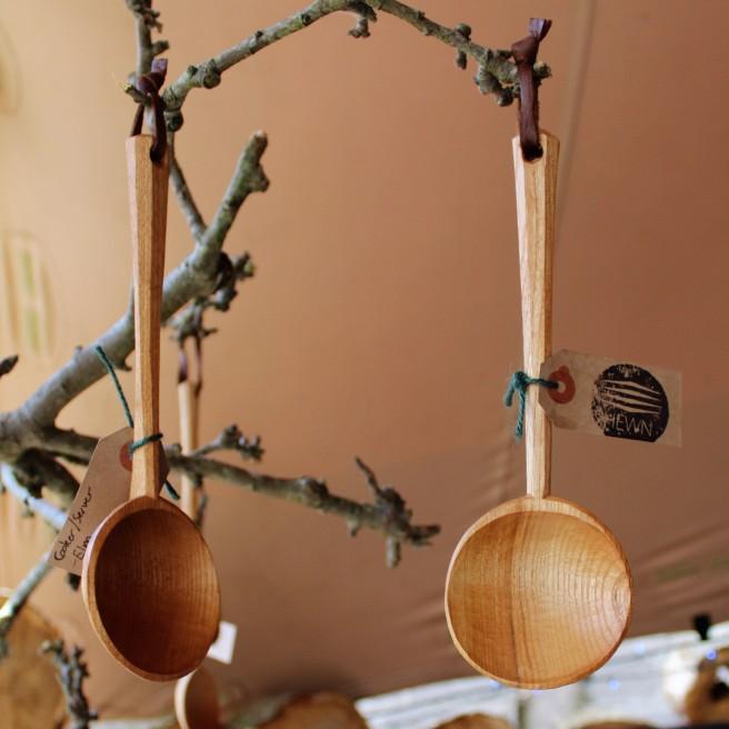 hewn.ie. Eamonn O'Sullivan. Handmade spoons. Litfest.ie