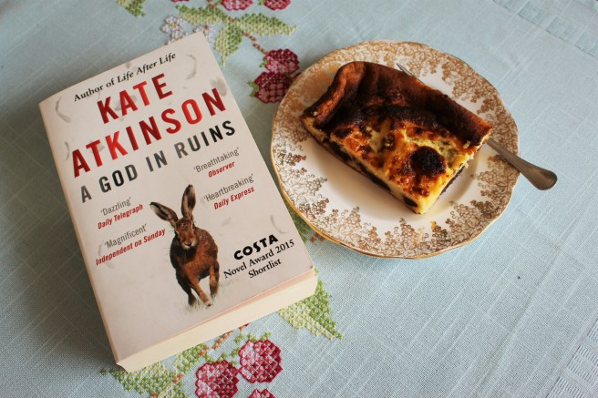 A God In Ruins, Kate Atkinson, book review, Far Breton recipe,