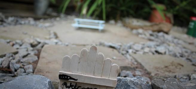 fair garden welcome gate