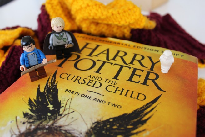 Harry Potter and The Cursed Child, review, J.K. Rowling, Lego Harry Potter, Lego Draco Malfoy, Scorpius Malfoy, Albus Potter,
