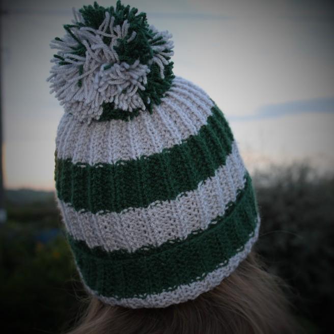 Slytherin hat.