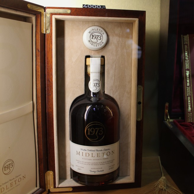 only 4000 euros for a 1973 bottle of jameson.