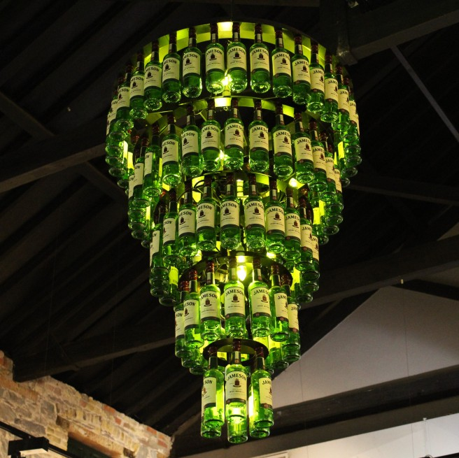 Jameson chandelier. Midleton, Co. Cork.