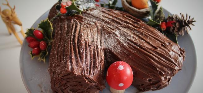 Yule Log. From Jamie Oliver's Christmas Cookbook.