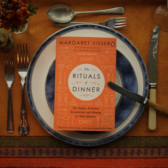 The Rituals of Dinner, Margaret Visser, book review