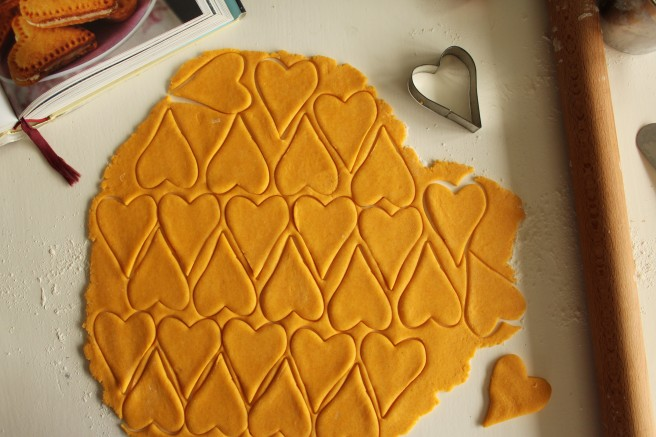 nigella Lawson, tessellating hearts.