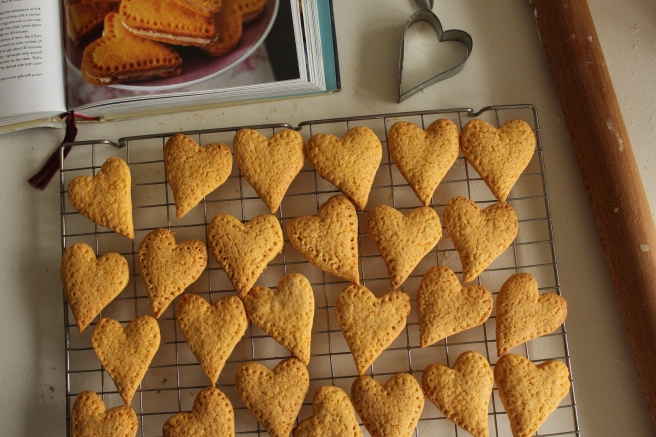 Nigella Lawson Custard Cream Hearts