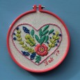 Mollie Makes, #molliemakers, embroidery hoop