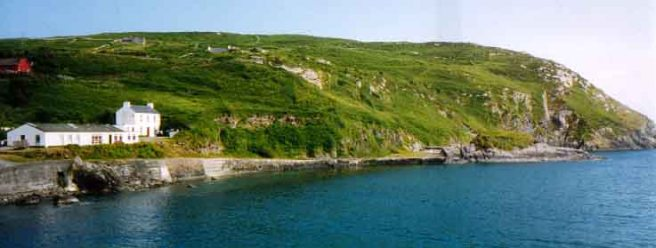 Tir na nOg, South harbour, Cape Clear, Cork, Ireland.