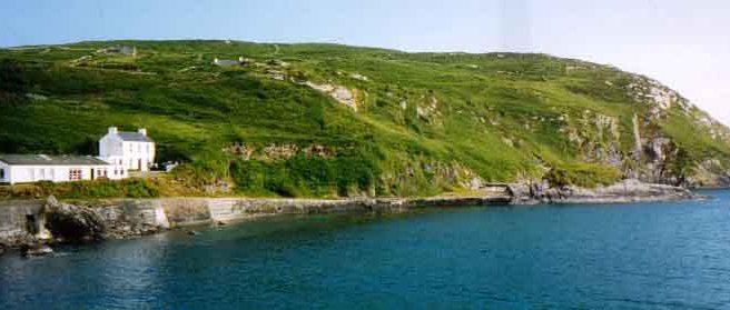 Tir na nOg, South harbour, Cape Clear, Cork, Ireland.