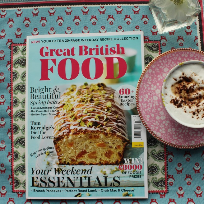 Great British Food Magazine. April 2017.