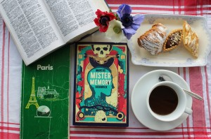 Mister Memory. Marcus Sedgwick. review.