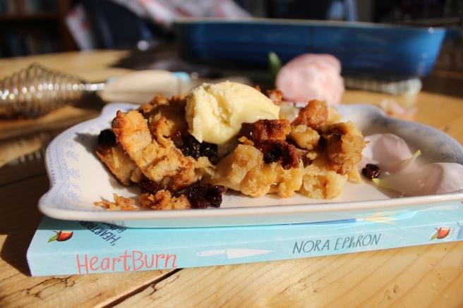 Nora Ephron's Heartburn. Bread Pudding.